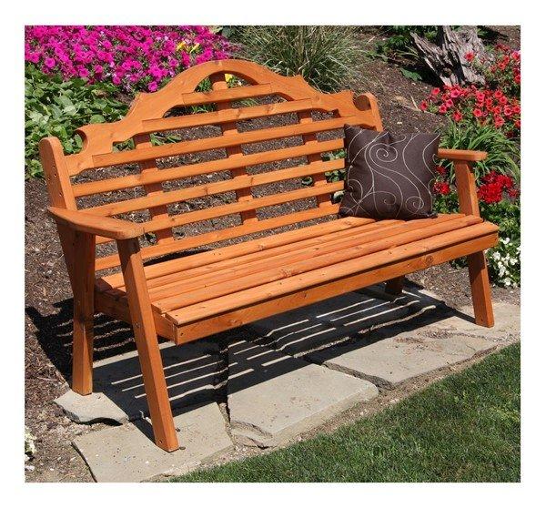 Marlboro Wooden Garden Bench