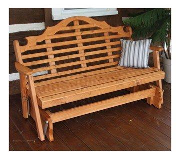 Marlboro Wooden Glider Bench