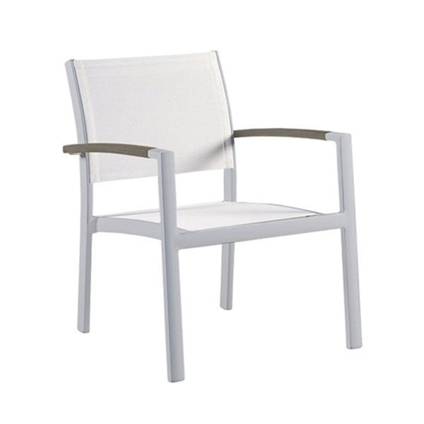 Sono Sling Lounge Chair with Powder-Coated Aluminum Frame - 12.5 lbs.