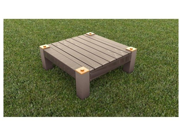 Dog Park Recycled Plastic Dog Resting Table