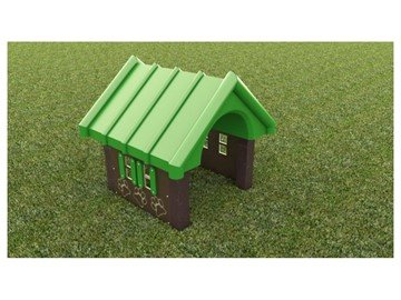 Recycled Plastic Dog Park Playhouse