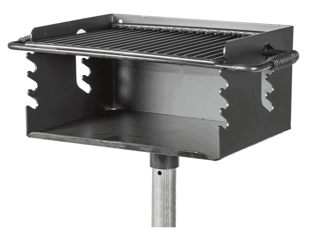 Charmant 300 Sq. In. Park Outdoor Charcoal Grill With Flip Grate