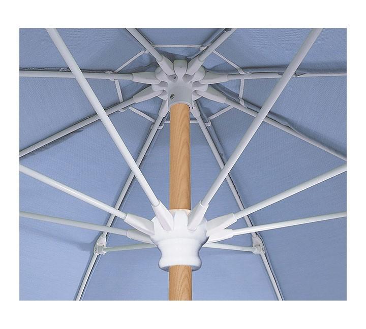 7 5 Ft Octagonal Fiberglass Ribbed Beach Umbrella With