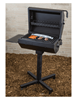 Covered Grill With 320 Sq. In Cooking Surface, Four Position, Inground Or Portable