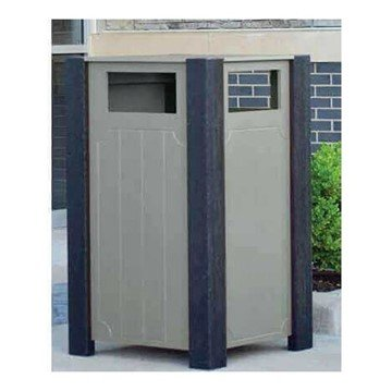 Landmark Series 32 Gal. Trash Receptacle