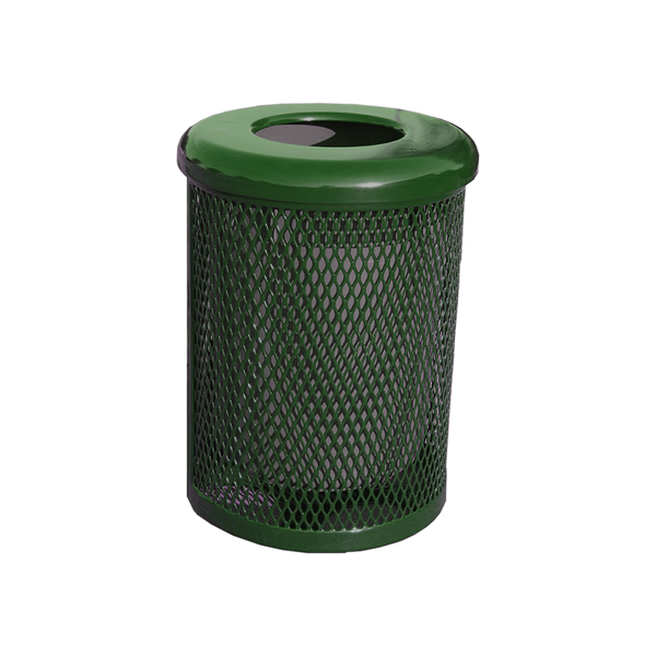 Elite Series 32 Gallon Thermoplastic Polyethylene Coated Trash