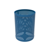 Perforated Steel - Blue