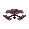 Expanded Metal - Burgundy - Surface Mount