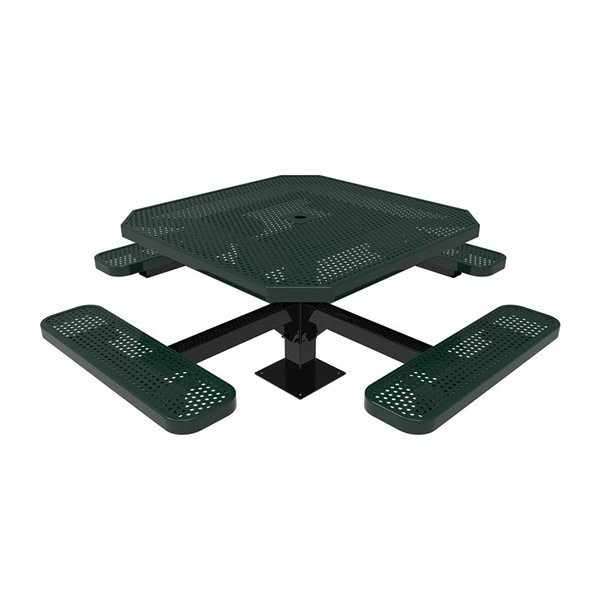 Perforated Steel - Green - Surface Mount
