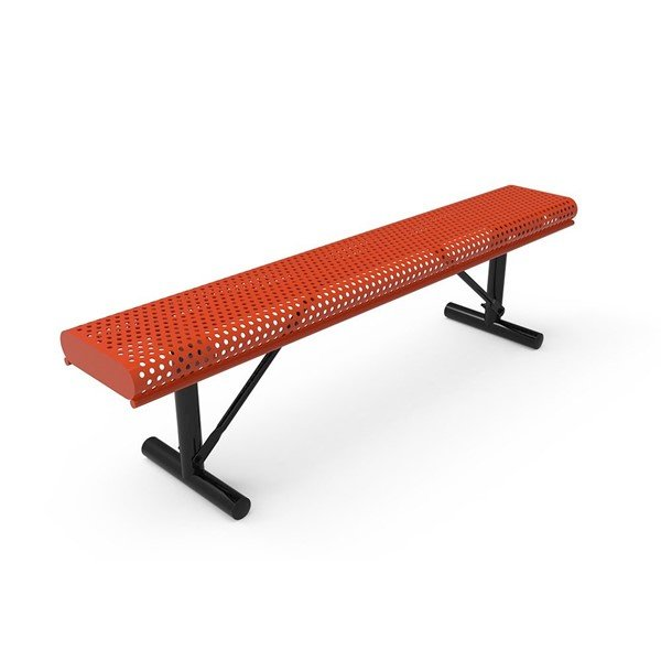 Perforated Steel - Red - Portable