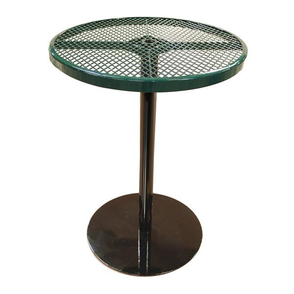 "36"" Round Patio Thermoplastic Coated Bar Height Table"