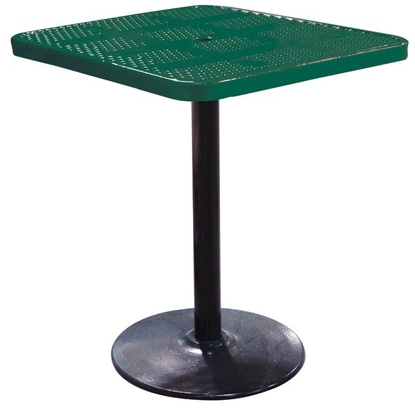 Perforated Steel - Green - Portable