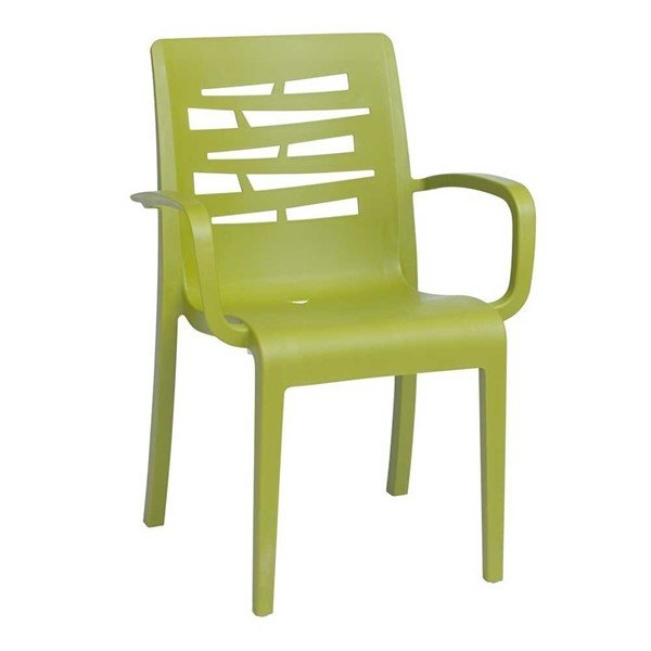 Picture of Essenza Commercial Grade Plastic Resin Dining Armchair - 11 lbs.