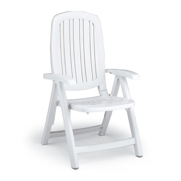 Picture of Salina Poolside Folding Dining Chair by Nardi - 13 lbs.