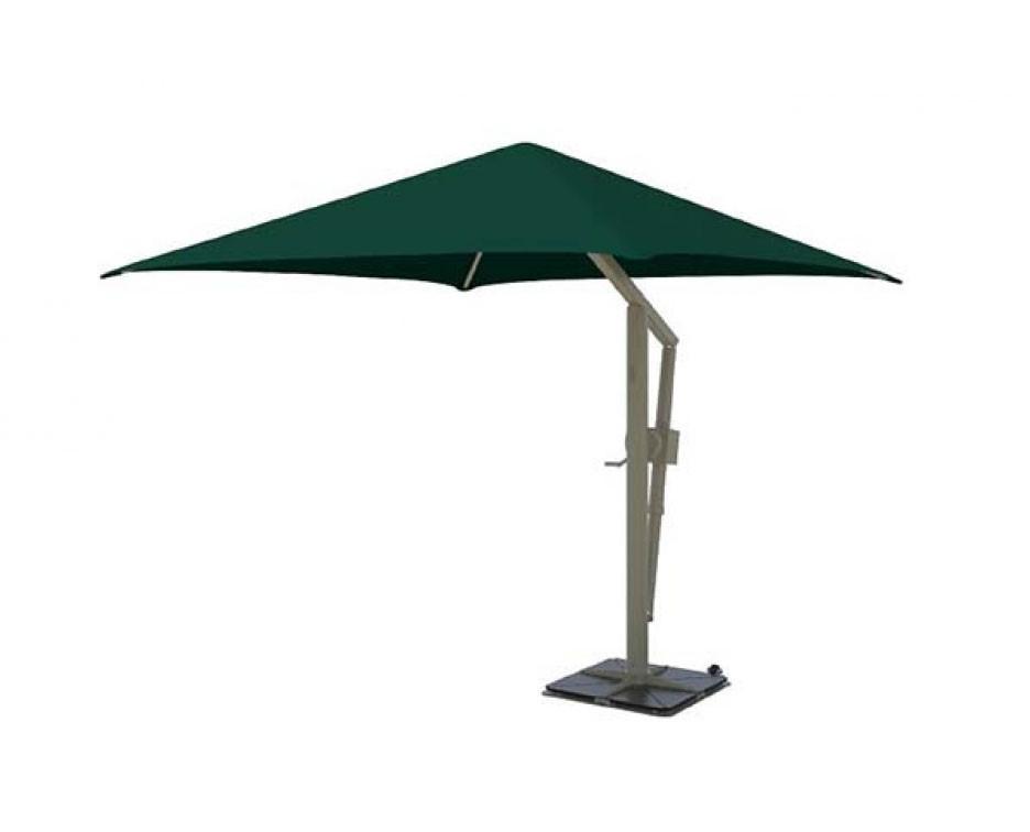 10 Square Portable Retractable Crank Cantilever Umbrella