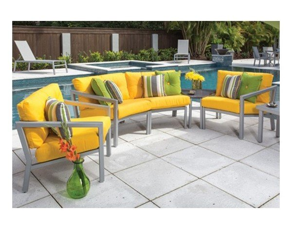 Madrid Modular Deep Cushion Seating Sectional Collections