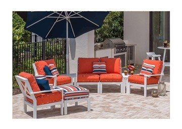 Sanibel Modular Deep Seating Sectional Collections