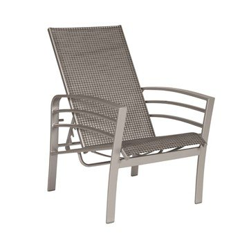 Skyway Sling Recliner Chair With Powder Coated Aluminum Frame