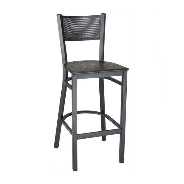 Domino Restaurant Interior Metal Bar Chair