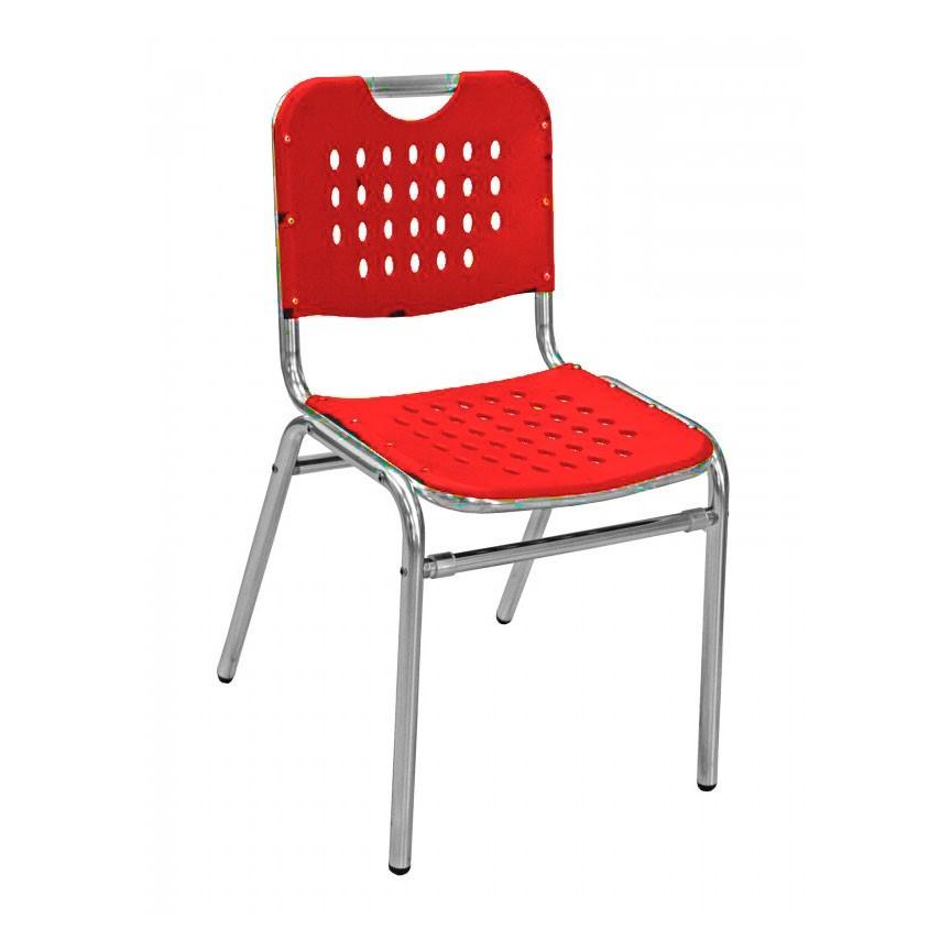 School House Outdoor Restaurant Armless Chair With