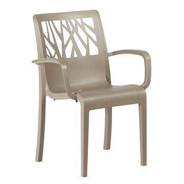 Vegetal Commercial Grade Plastic Resin Dining Chair