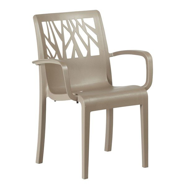 Vegetal Commercial Grade Plastic Resin Dining Chair