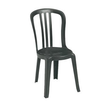 Exceptional Miami Bistro Side Chair, Commercial Plastic Resin Stacking Bistro Chairs