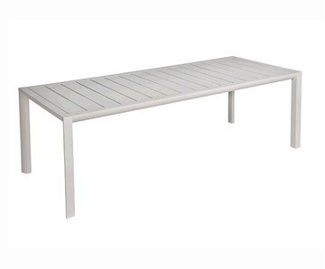 "86"" X 35"" Sunset Rectangular Aluminum Dining Table"