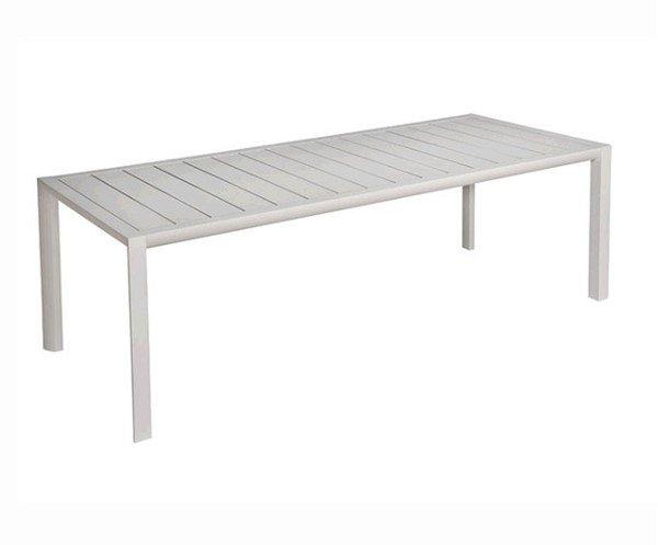 """86"""" X 35"""" Sunset Rectangular Aluminum Dining Table"""