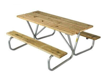 Phenomenal Commercial Picnic Tables Outdoor Picnic Tables For Parks Beutiful Home Inspiration Ommitmahrainfo