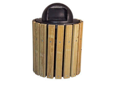 Picture for category Wooden Trash Cans