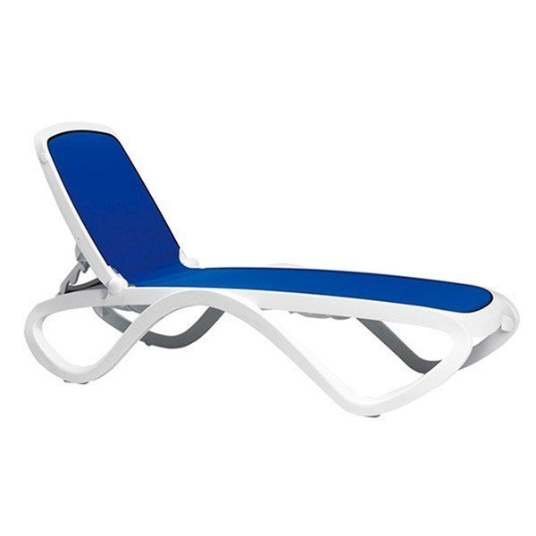 Omega Sling Plastic Resin Chaise Lounge