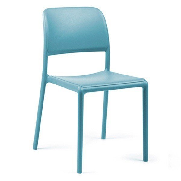 Riva Bistrot Plastic Resin Dining Chair - 9 lbs.