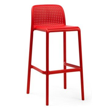 Picture of Lido Plastic Resin Bar Chair - 9 lbs.