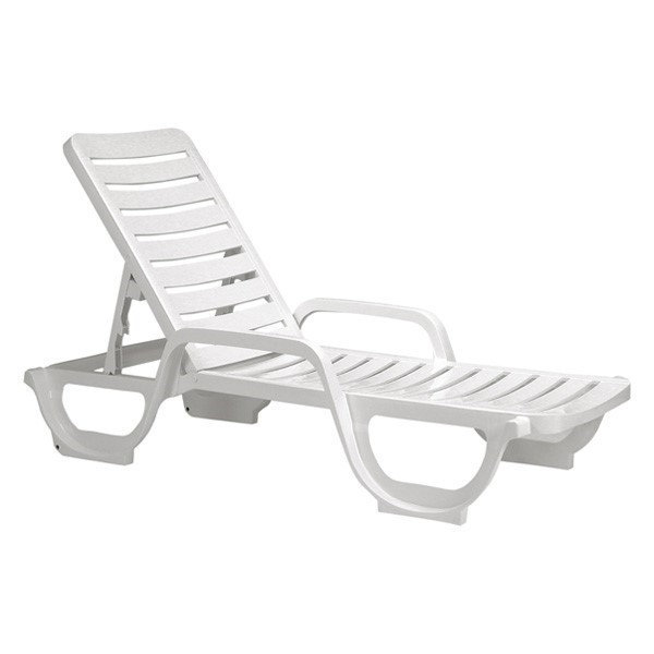 Bahia Plastic Resin Commercial Grade, Chaise Lounge Chairs Outdoor Plastic