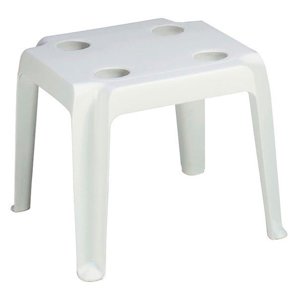 "18"" x 18"" Commercial Plastic Resin Oasis Low Table"