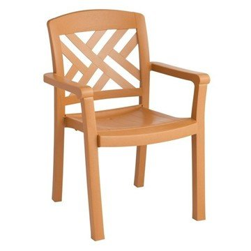 Sanibel Stacking Commercial Highback Plastic Resin Armchair