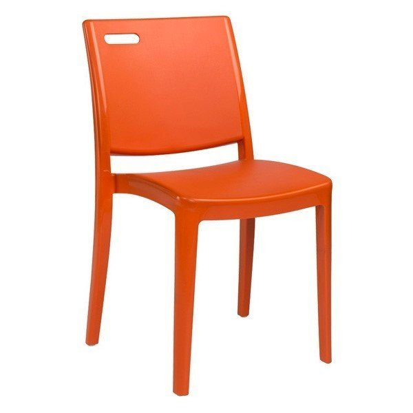 Metro Commercial Grade Plastic Resin Dining Chair
