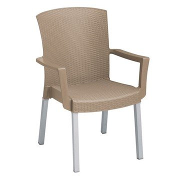 Havana Classic Stacking Commercial Plastic Resin Armchair