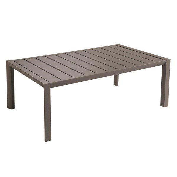 "24"" X 40"" Rectangular Sunset Aluminum Coffee Table"
