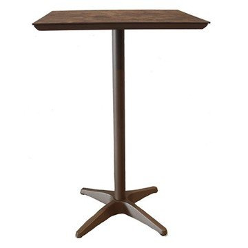 Sunset Square Aluminum Bar Height Table