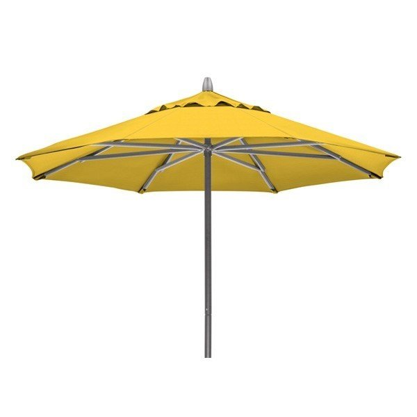7 1/2' Telescope Casual Powdercoat Aluminum Market Umbrella
