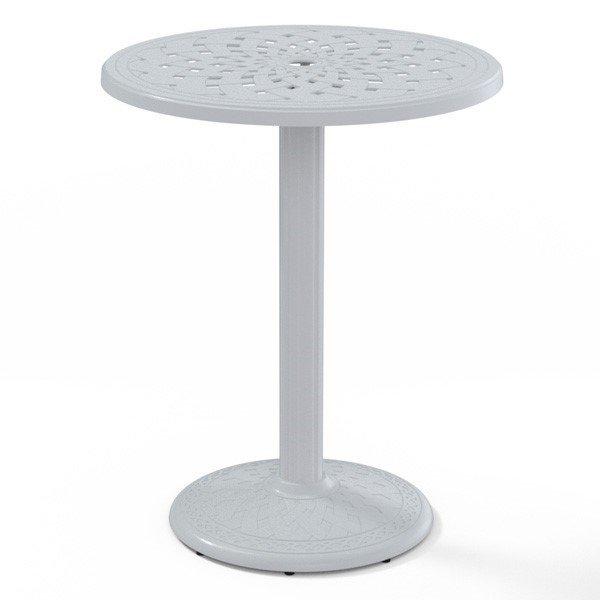 """Telescope 30"""" Round Cast Aluminum Counter Table"""