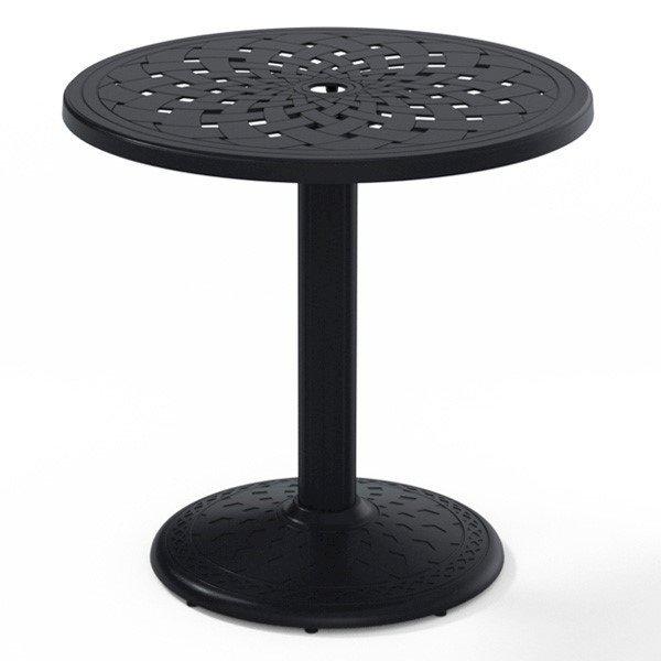 """Telescope 30"""" Round Cast Aluminum Dining Table"""