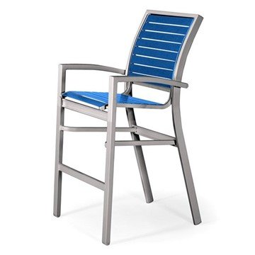 Telescope Kendall Strap Bar Chair with Aluminum Frame