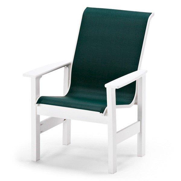 Telescope Leeward High Back Sling Swivel Rocker Dining Chair with Marine Grade Polymer FrameTelescope Leeward Sling Dining Chair with Marine Grade Polymer Frame