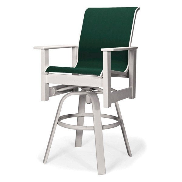 Telescope Leeward Sling Swivel Bar Chair with Marine Grade Polymer Frame