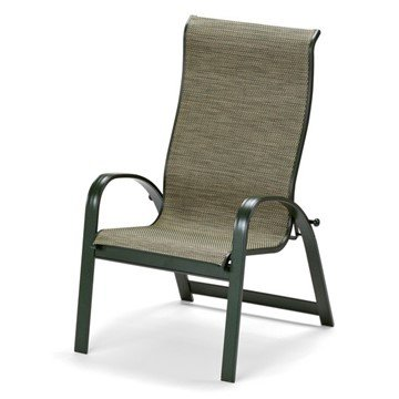 Telescope Primera Supreme Sling Dining Chair with Aluminum Frame