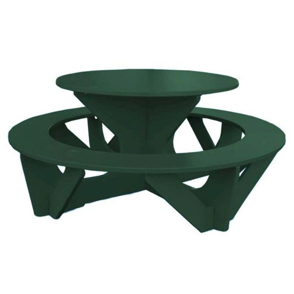 Round Recycled Plastic Kid's Activity Table