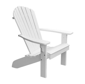 Fanback Recycled Plastic Adirondack Chair